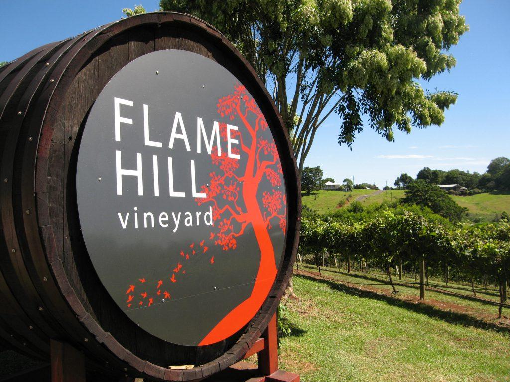 Flame Hill Vineyard is a must stop. (c) Sunshine Coast Destination Ltd