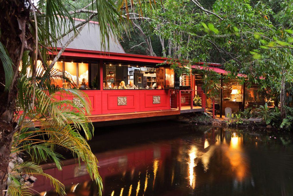A touch of Thailand at Spirit House Restaurant. (c) Sunshine Coast Destination Ltd