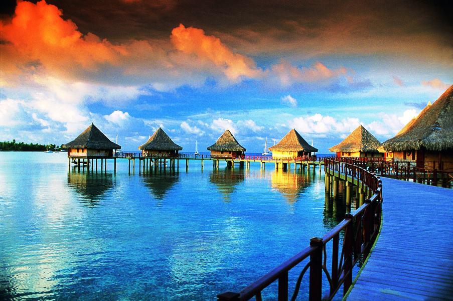 Tahiti, South Pacific.