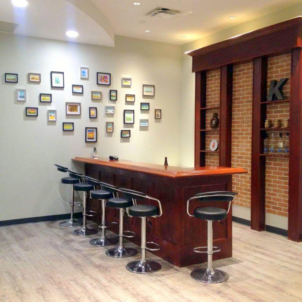 Capital K Distillery tasting room. Capital K Distillery | Winnipeg, Manitoba, Canada