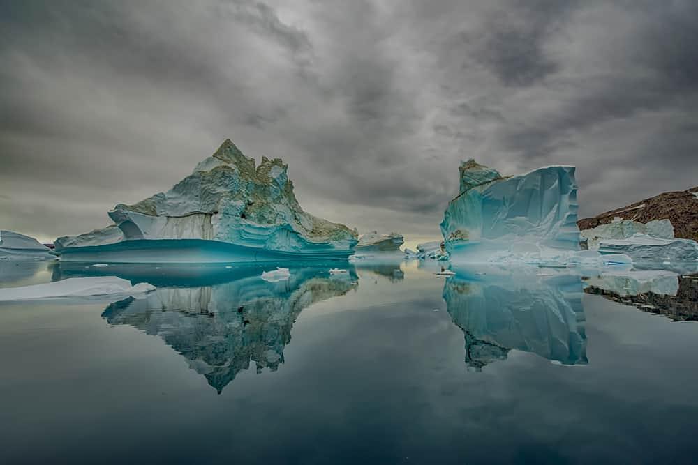Sermilik Fjord, icebergs