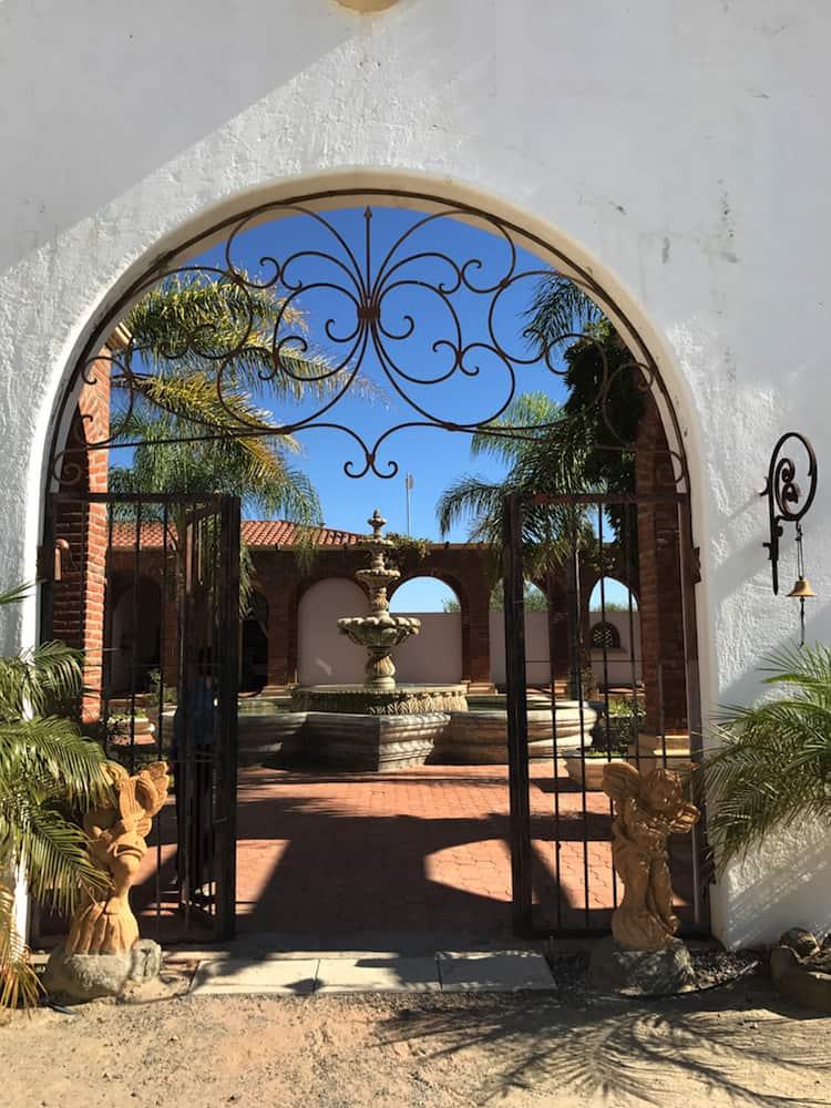 Adobe Guadalupe: a peaceful vineyard retreat © Christine Salins.