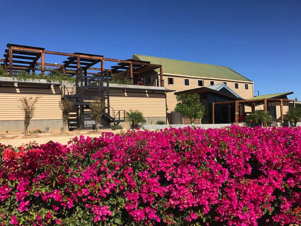 Finca La Carrodilla, one of the few biodynamic wineries in Valle de Guadalupe. © Christine Salins.