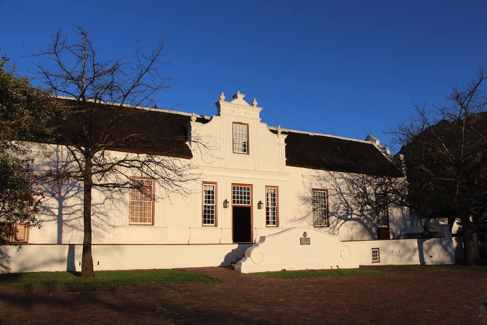 Lanzerac Estate, Stellenbosch, which hosts a chocolate and wine pairing © Christine Salins.