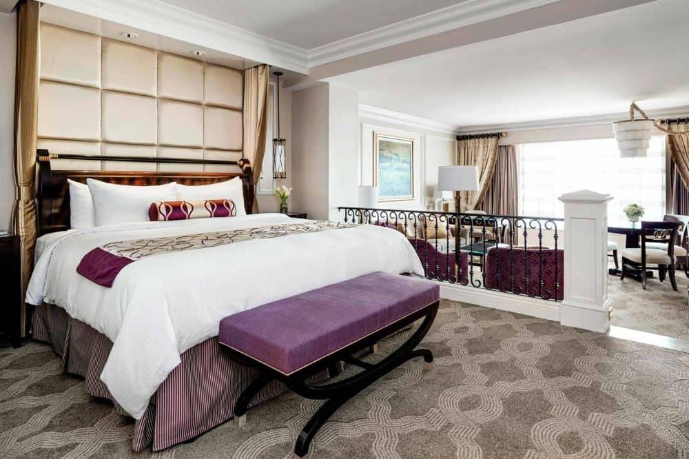 Luxury King Suite at The Venetian Las Vegas.