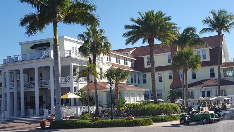 Gasparilla Inn, Boca Grande, Florida (c) Joy Steinberg. FWT Magazine.