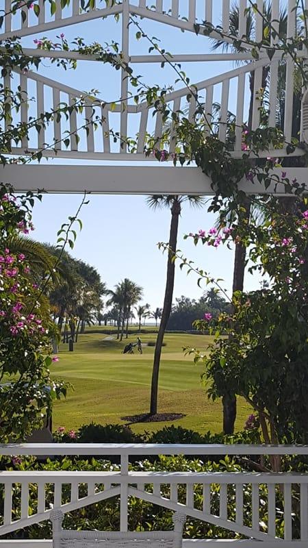 Gasparilla Inn Gazebo, Boca Grande, Florida (c) Joy Steinberg. FWT Magazine.