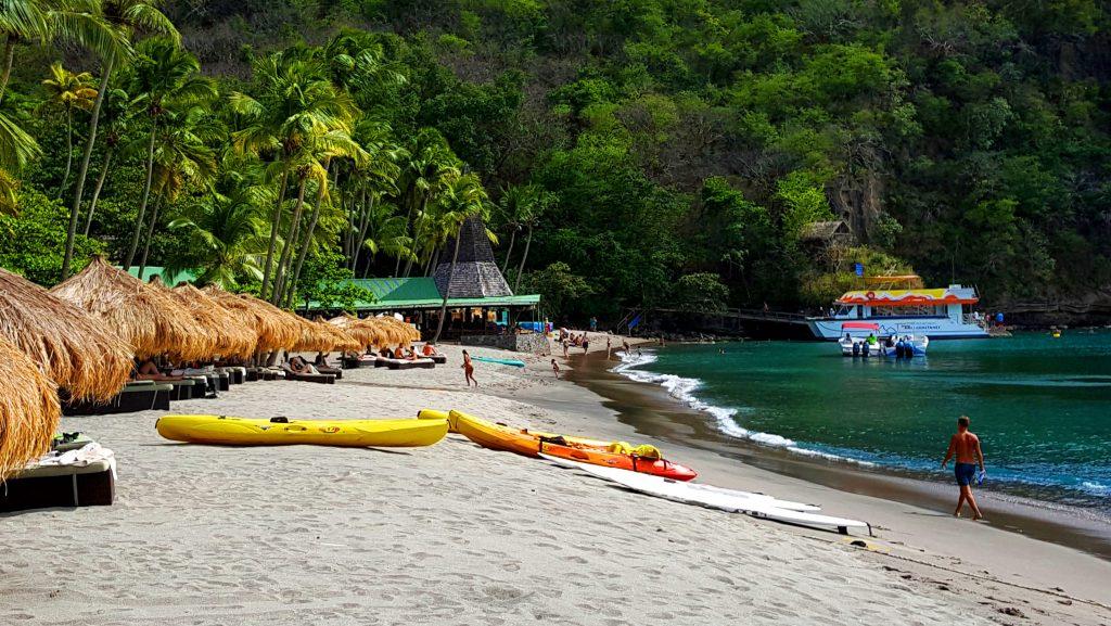 St. Lucia Anse Chastanet beach