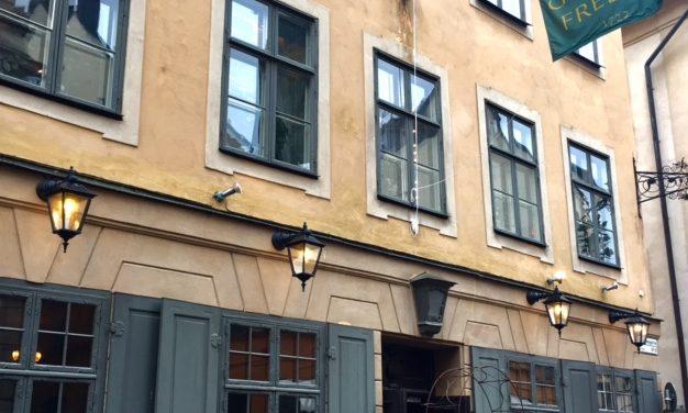 Dining at the Oldest Restaurant In Stockholm