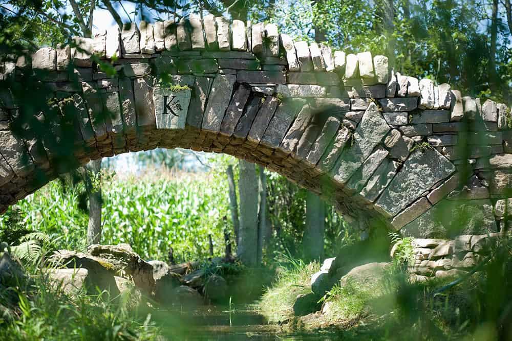 Karlo Estates Bridge Over Hubb's Creek