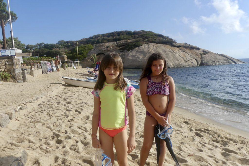 Giglio Island beaches. Italy. FWT Magazine.
