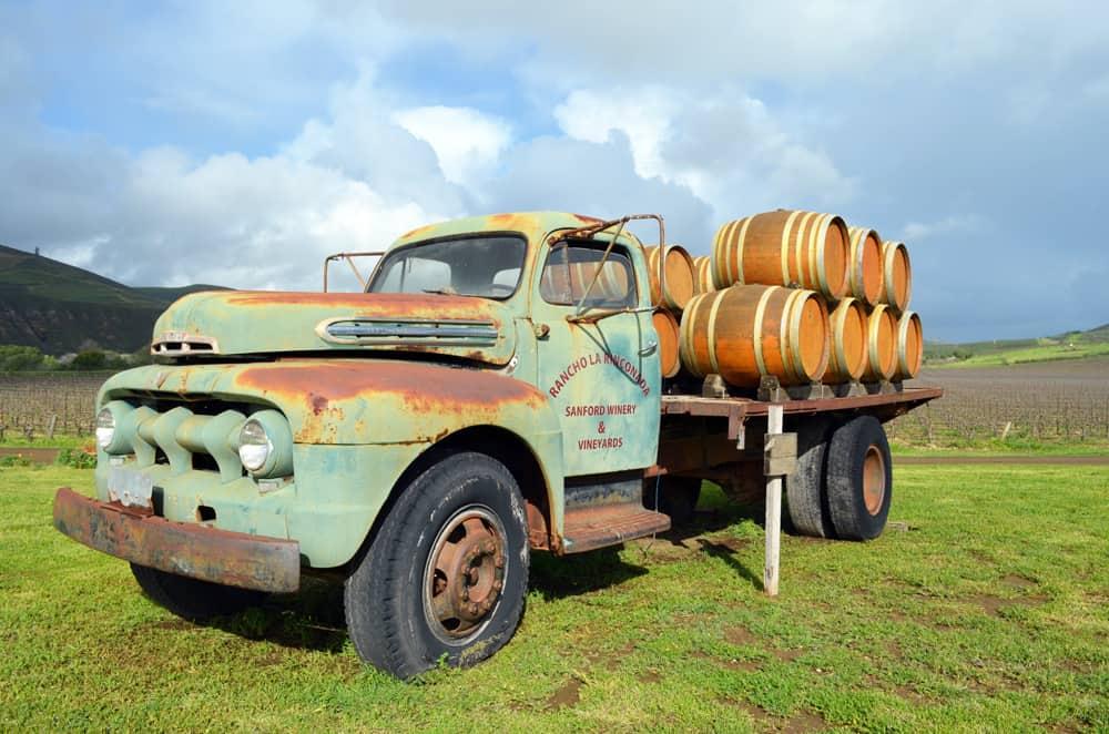 Sanford Winery Rancho La Rinconada Truck