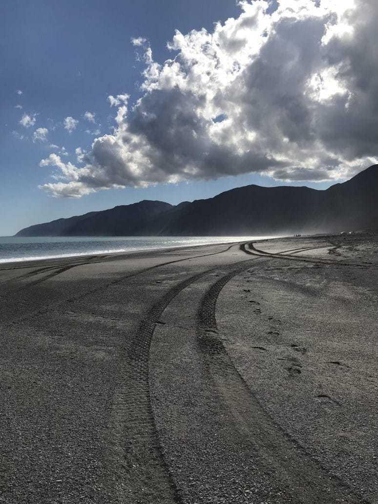 South Wairarapa coast, New Zealand. FWT Magazine.