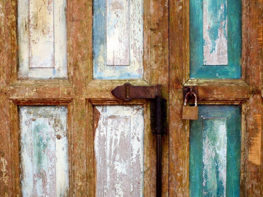 Doorway, Lunuganga. FWT Magazine.