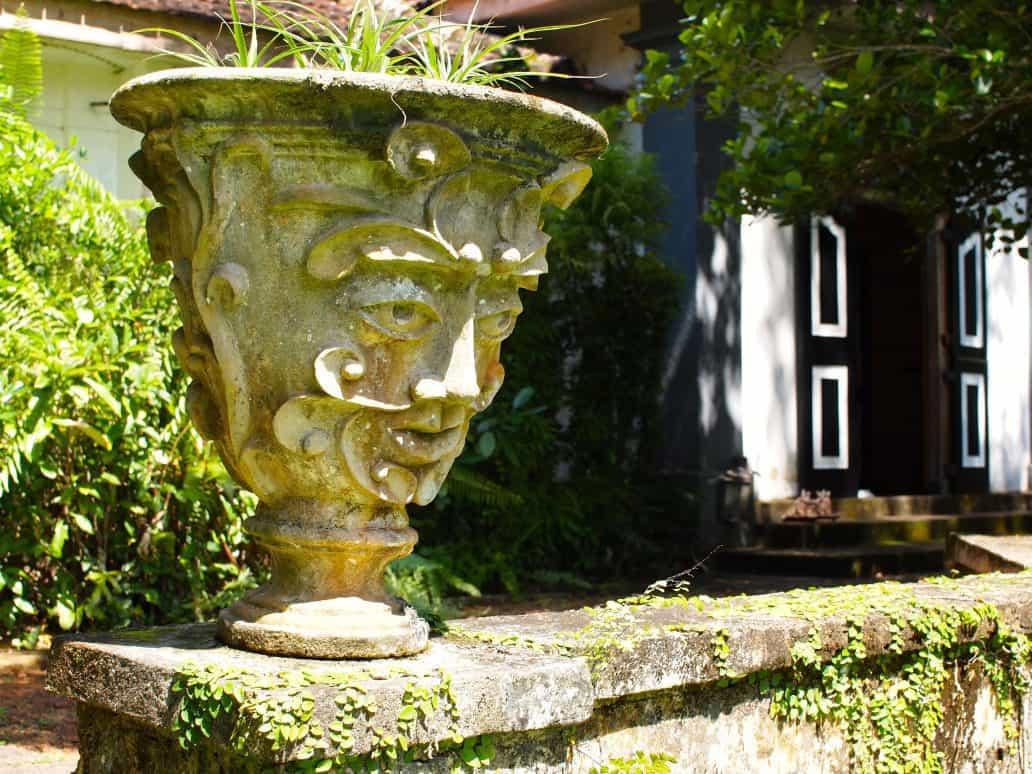 Geoffrey Bawa's Lunuganga Gardens, Bentota. FWT Magazine.