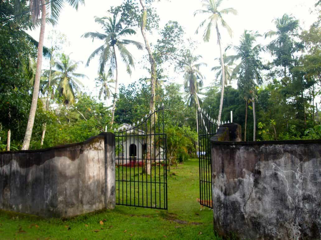 Gateway to Nisala Arana resort. FWT Magazine.
