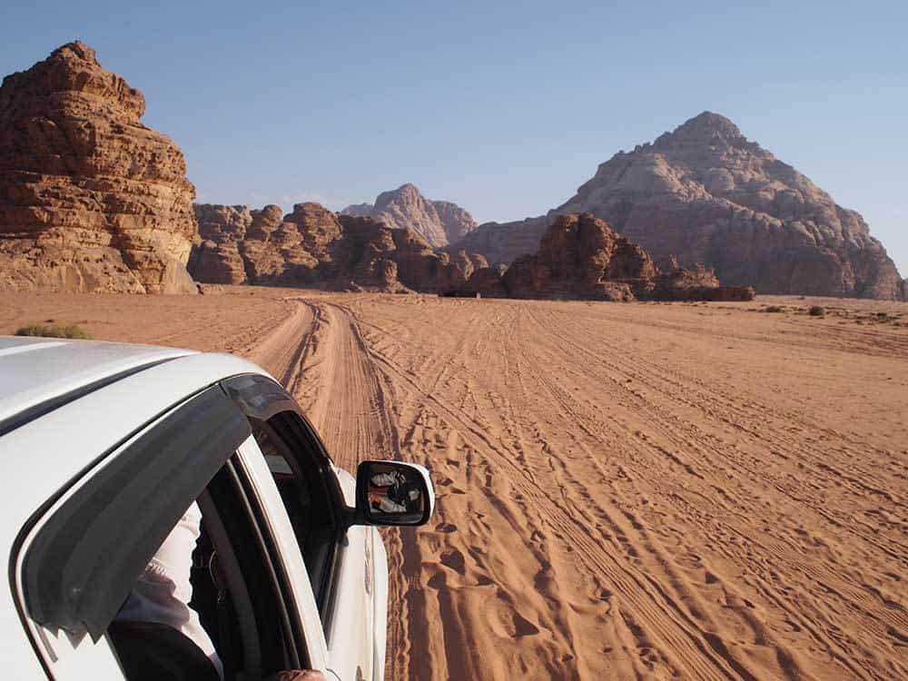 Our Most Memorable Moments in Jordan - 4x4 through Wadi Rum