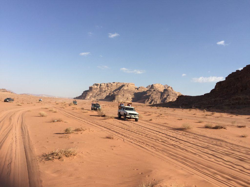 Wadi Rum desert adventure. FWT Magazine.
