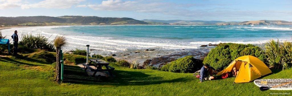 Porpoise Bay, Southland, New Zealand. FWT Magazine.