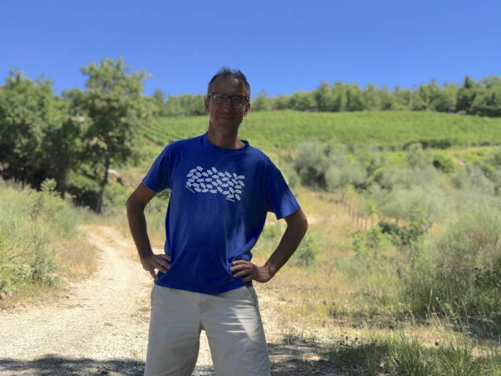 Radda winemaker Piero Lanza. FWT Magazine.