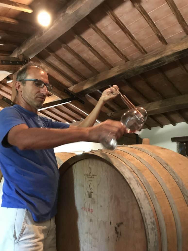 Poggerino wine. FWT Magazine.