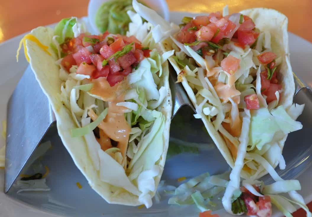 Fish tacos at Mrs. Mac's Kitchen in Key Largo FWT Magazine