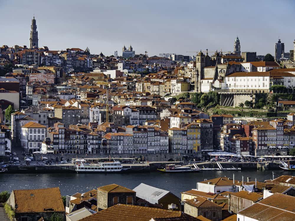 View of Ribeira, from The Yeatman Hotel, Vila Nova de Gaia