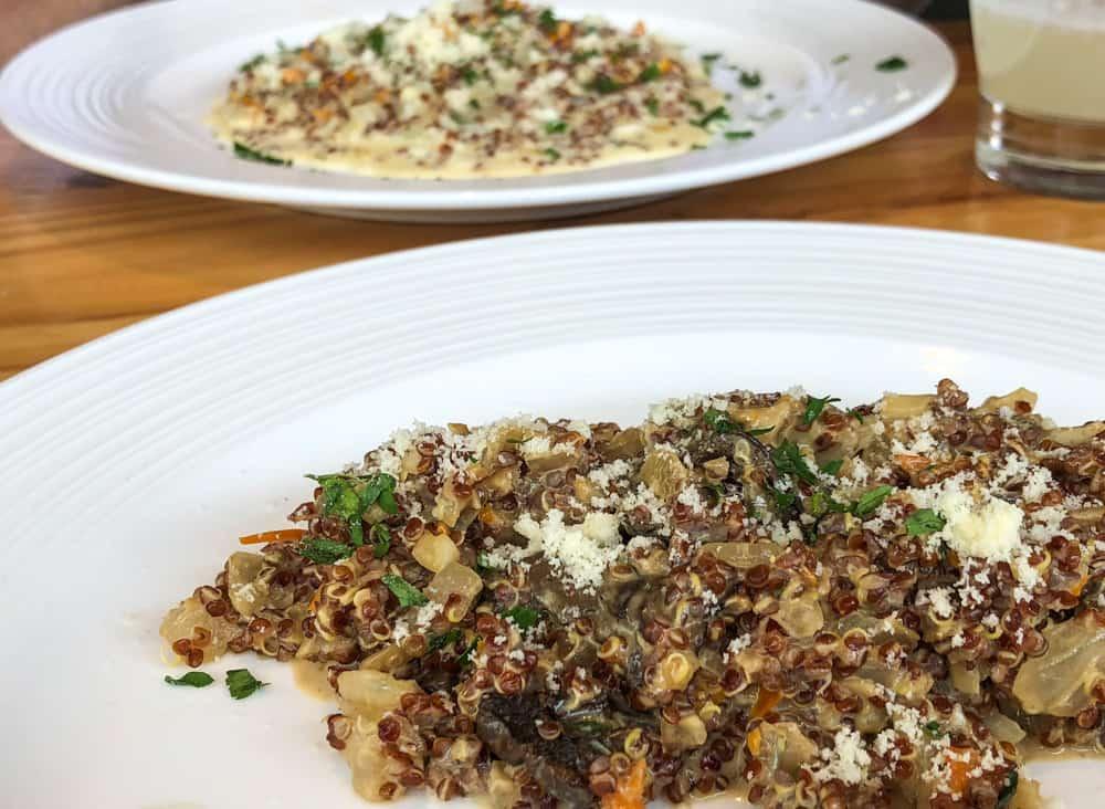 Making quinoa with blue cheese in Cusco Peru FWT Magazine