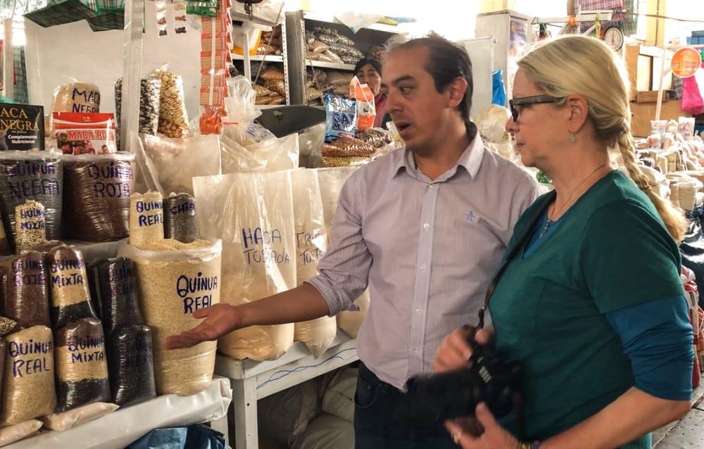 San Perdo market tour with chef Xavier FWT Magazine