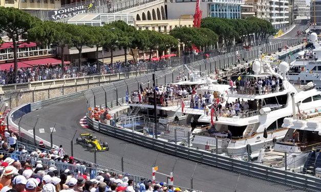 Cruising from start to finish at the Grand Prix de Monaco