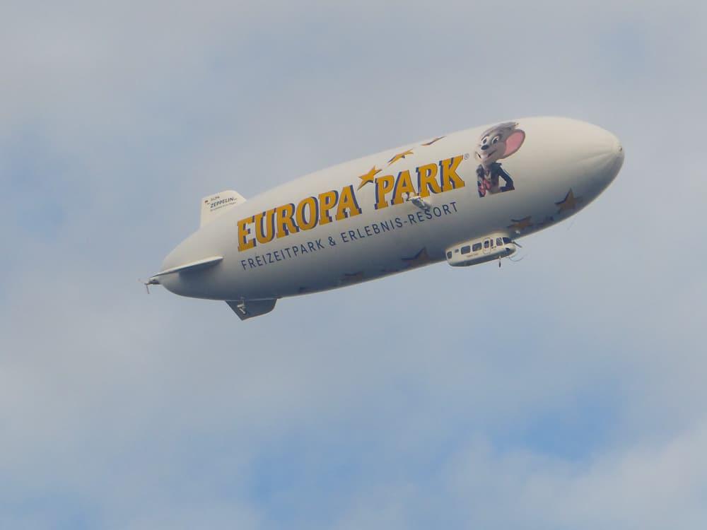 Take a zeppelin ride over Lake Constance © Tamara D Muldoon