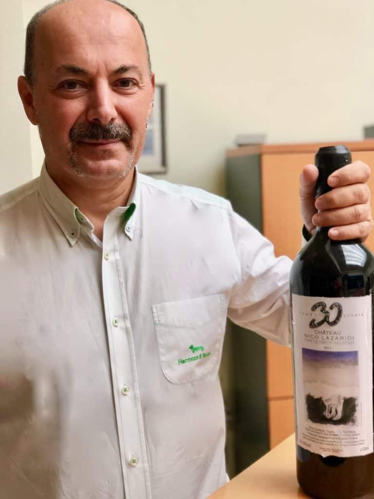 Federico Lazaridis, Managing Director, Nico Lazaridis Winery