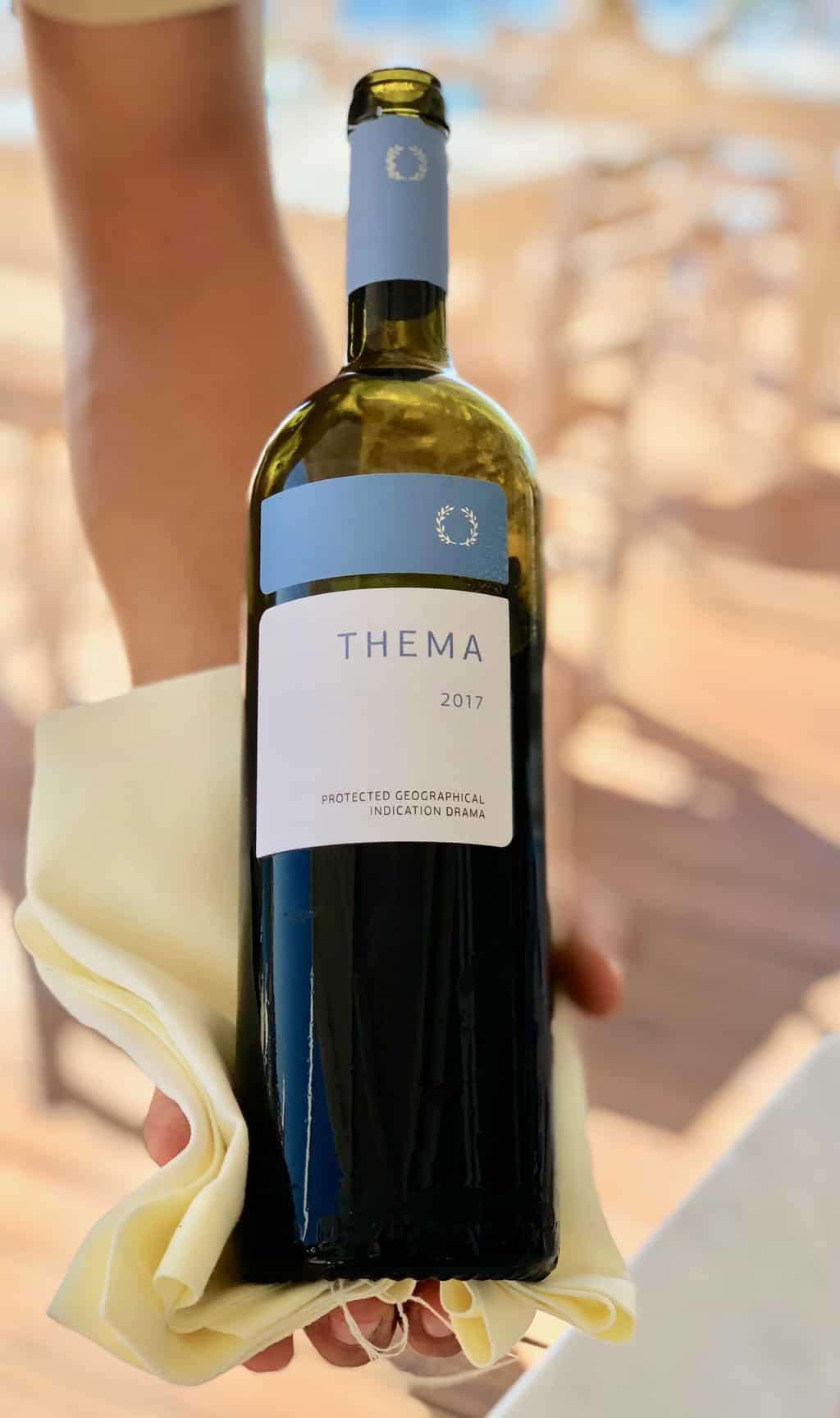 Macedonian Wine: Thema from Drama, Greece