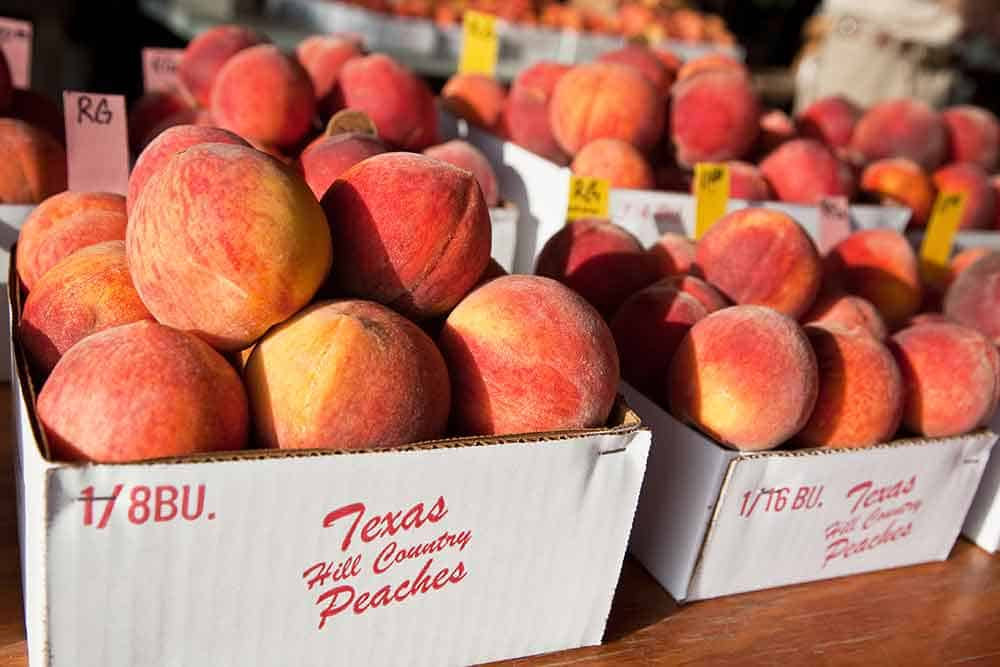 Gillespie County peaches