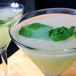 basil martini