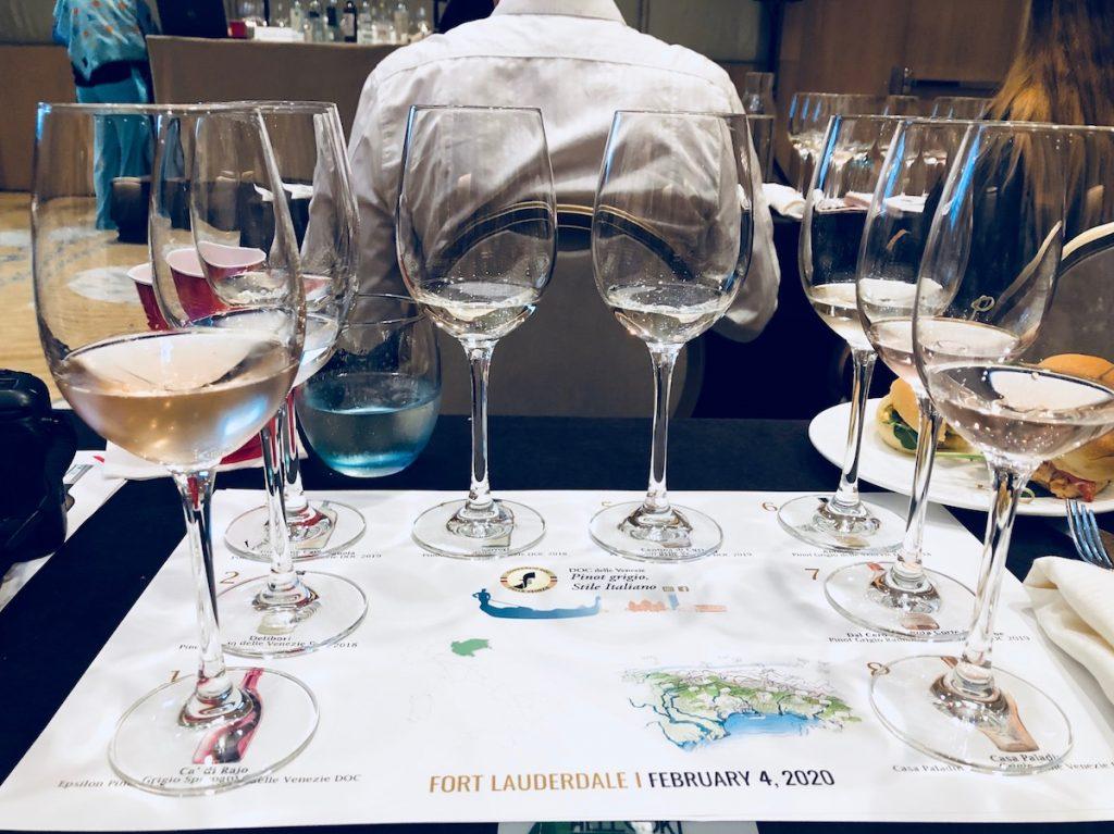 Pinot Grigio Wine Tasting