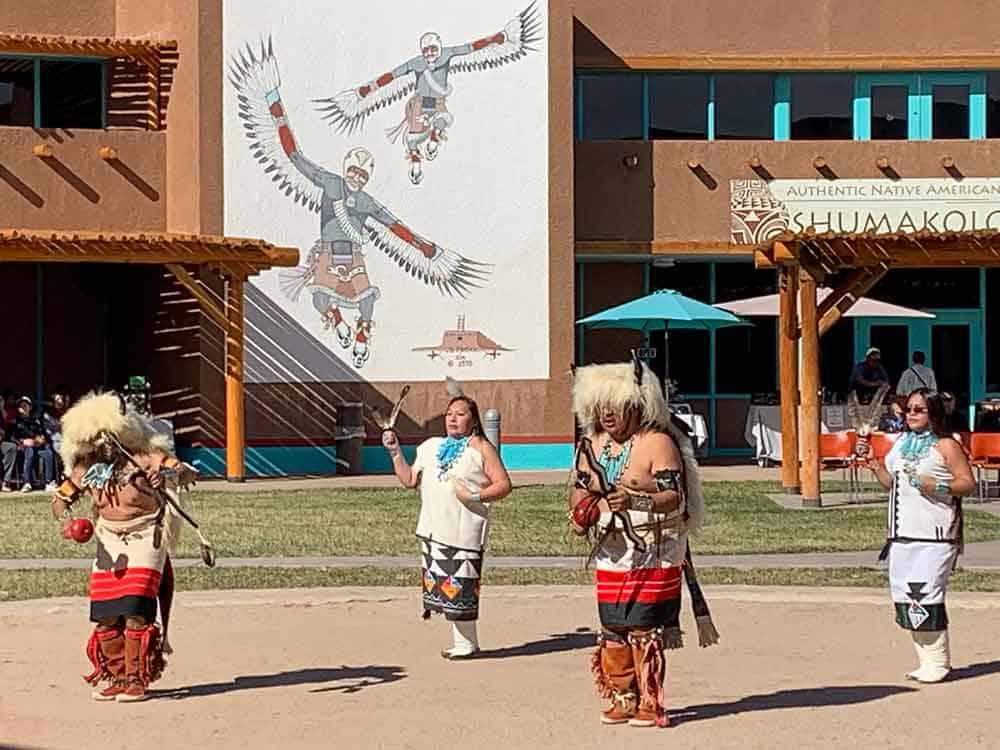 Native American dancers Indian Cultural Center, Albuquerque