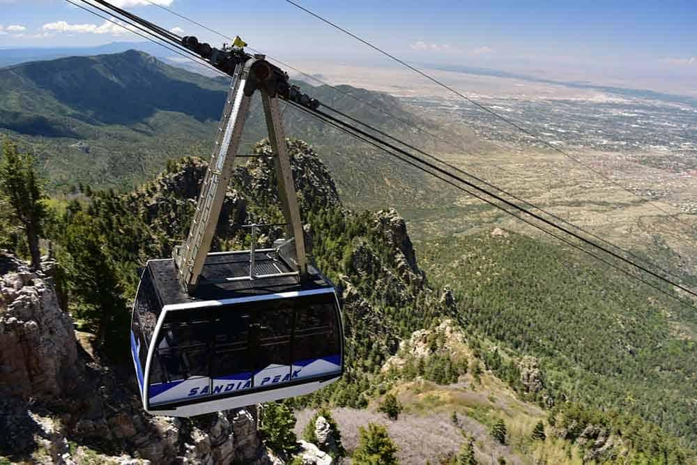Sandia Peak Aerial Tramway, Albuquerque