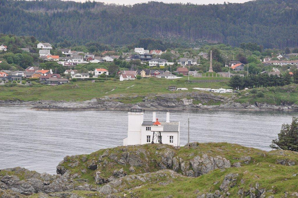 Scenic overview of Haugesund, Norway