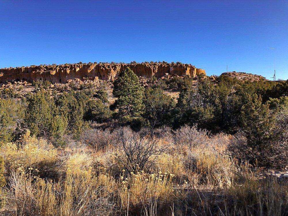 Tsankawi area of Bandelier Monument, Santa Fe