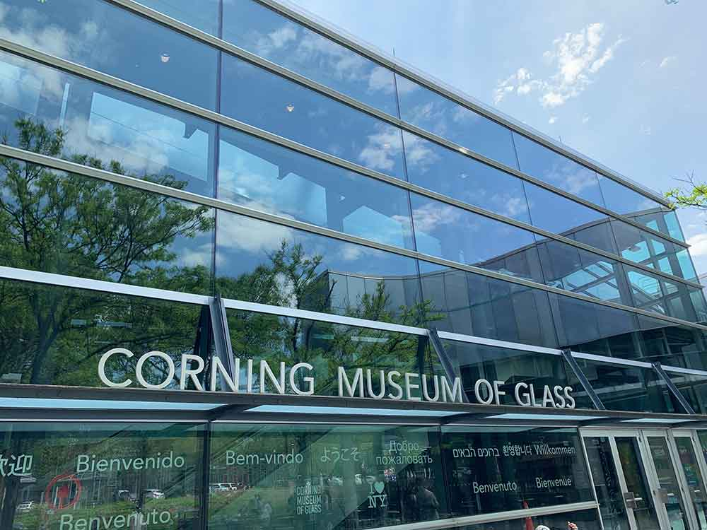 Corning Museum of Glass Exterior
