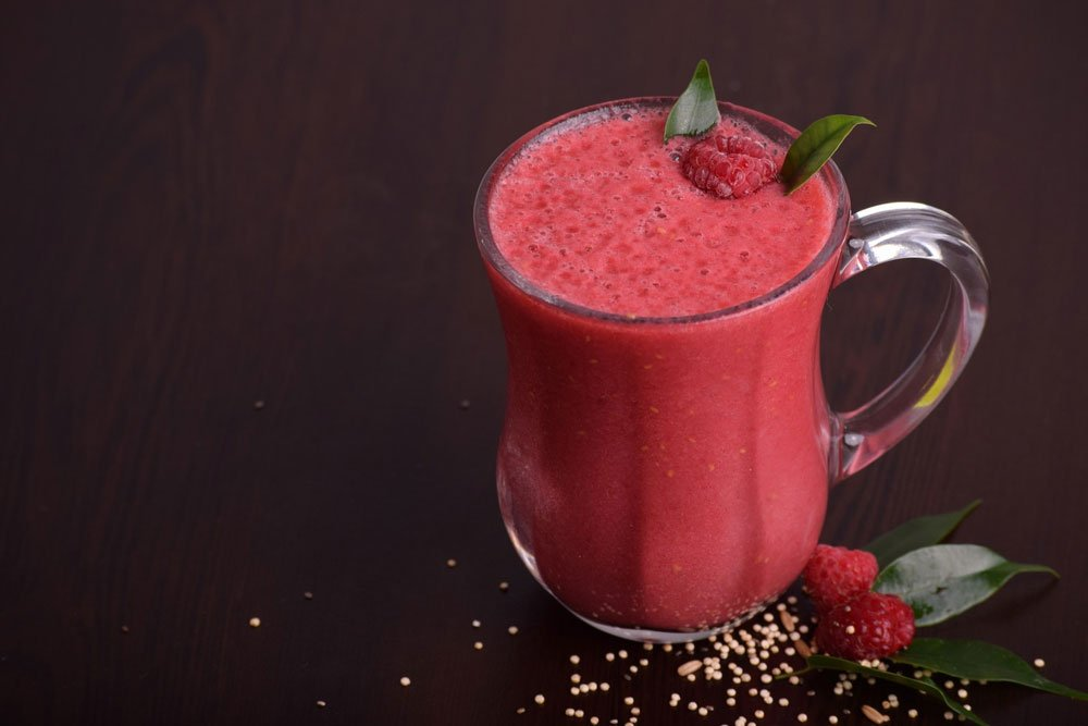 Fresh, Cool and Smooth Smoothie Drink