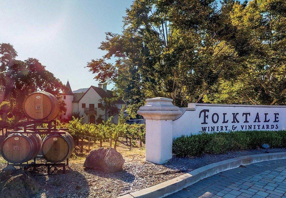 Front of Folktale Winery