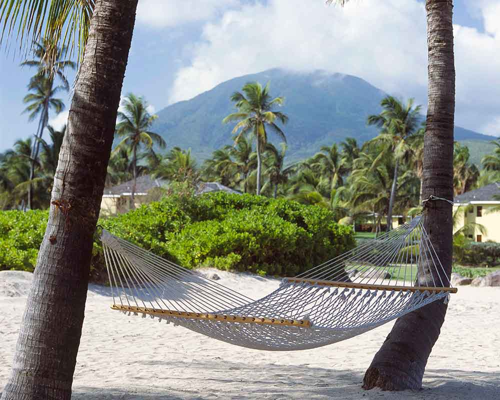 Hammock, Nisbet Plantation, Nevis, West Indies
