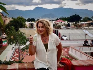 Sharon Kurtz in Oaxaca Mexico