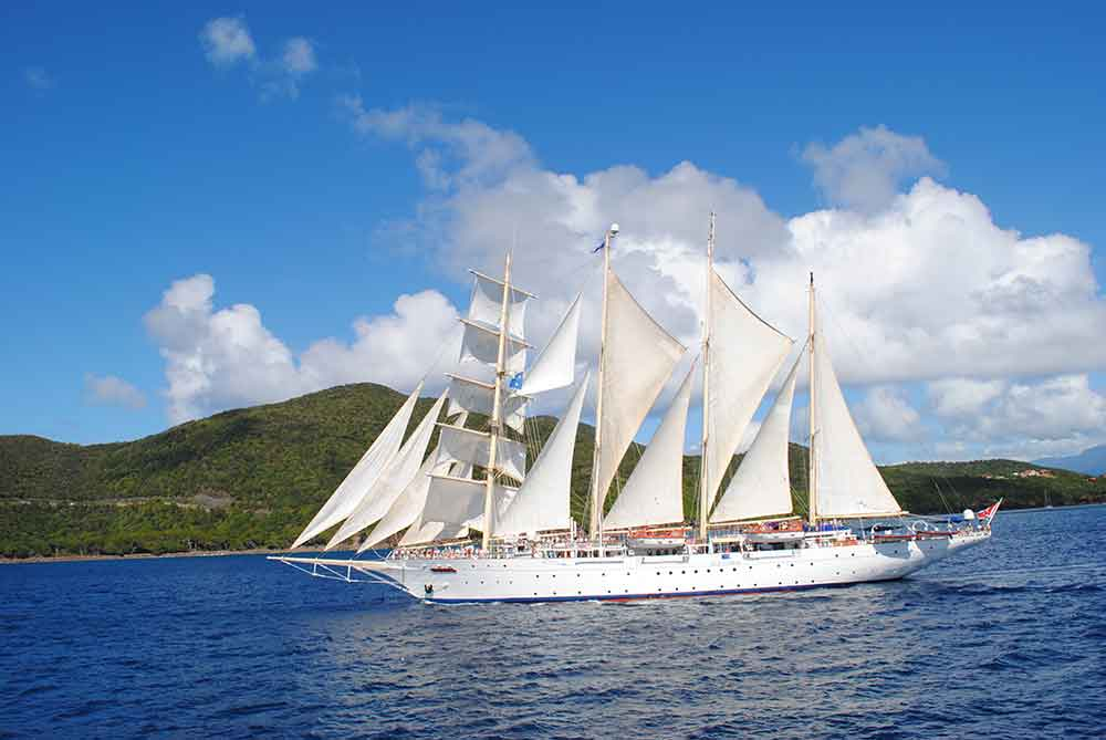 Star Clippers Caribbean cruise