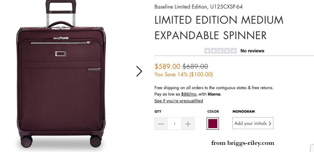 Briggs-Riley Luggage