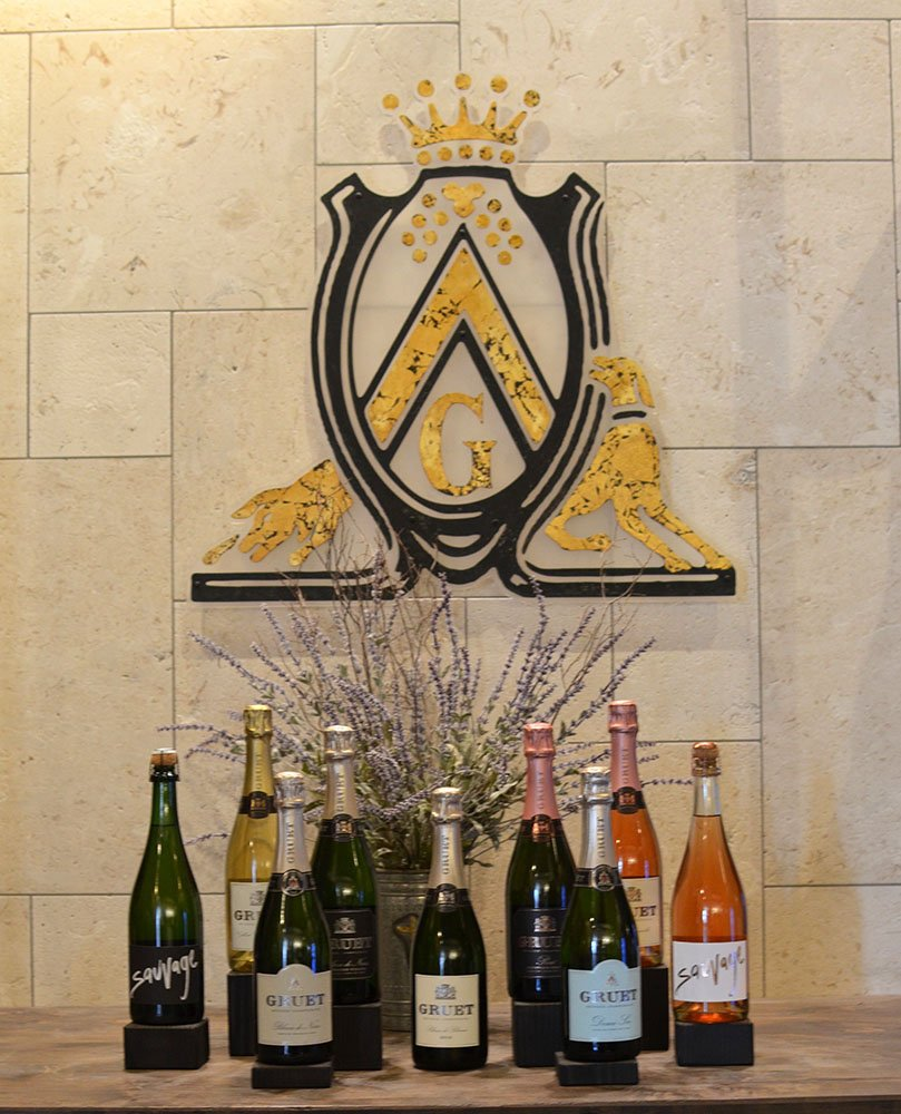 Sparkling Wine From Gruet (c) Cori Solomon