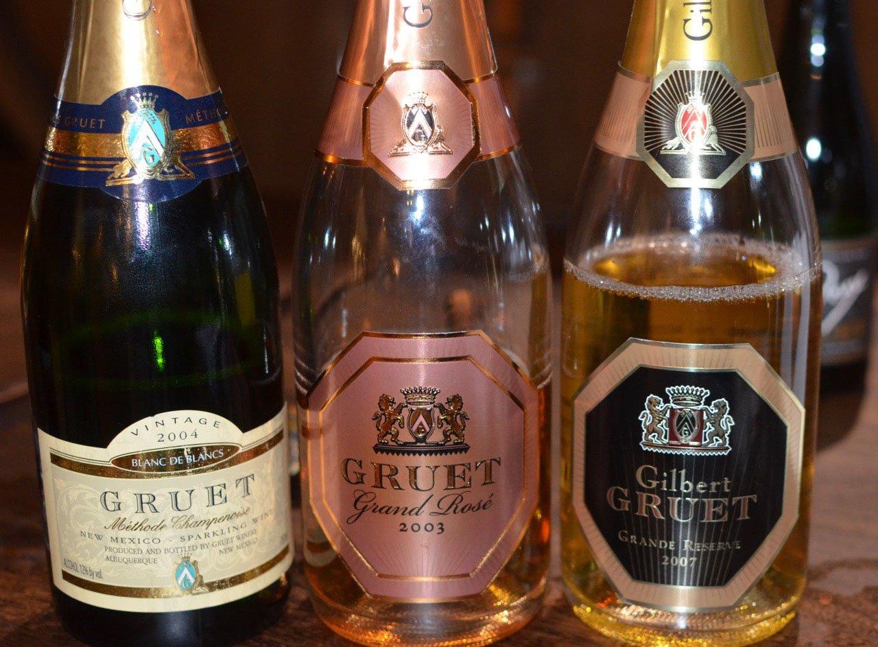 Vintage Gruet Sparkling Wine (C)Cori Solomon