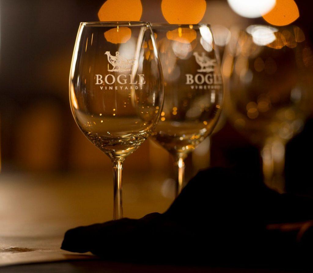 Bogle wine glasses